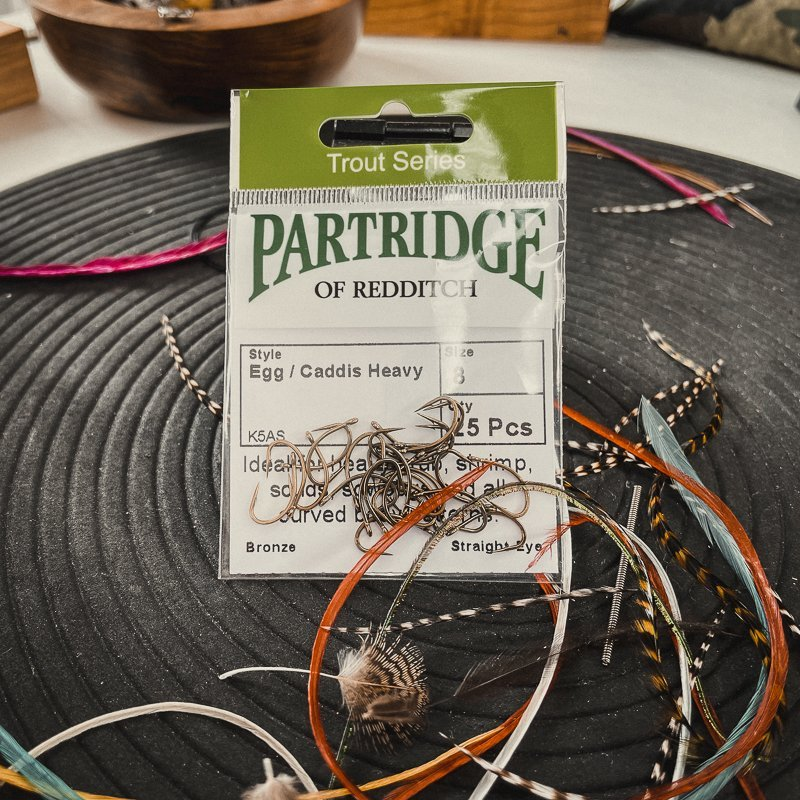 Partridge K5A Dry Fly Supreme #10-14
