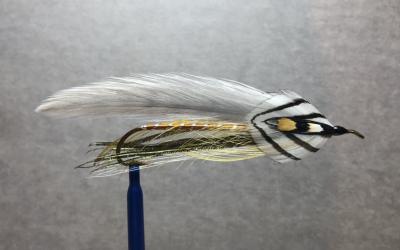 Grey Ghost Streamer Fly