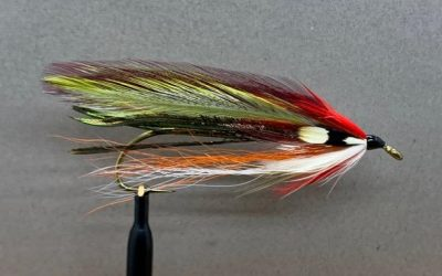 September Witch a Mike Martinek fly pattern